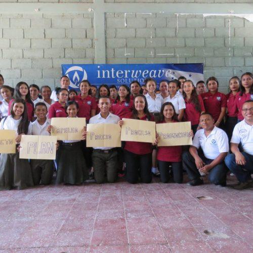 Grupo de Estudiantes Intae -Choluteca Honduras (1)